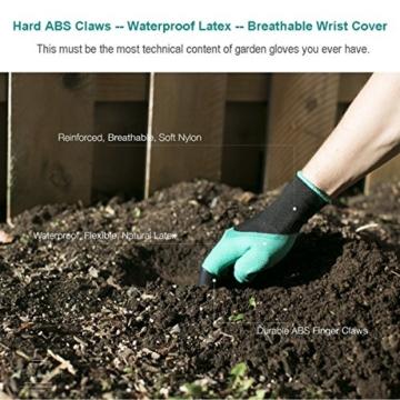 Gartenhandschuhe zum Graben