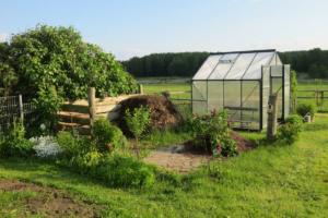 eigenes gewekshaus im Garten